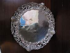 214: CONTINENTAL SILVER TRAY