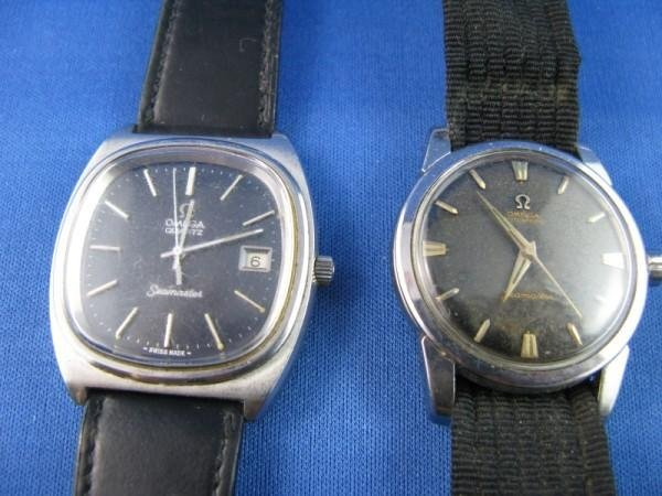 229: PAIR OF VINTAGE SEAMASTER OMEGA WATCHES, NOT IN WO