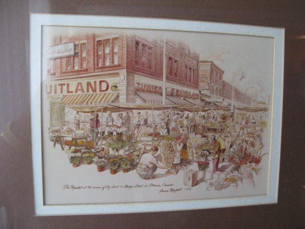 10: PHOTO PRINT, THE MARKET AT THE CORNER OF BYWARD AND