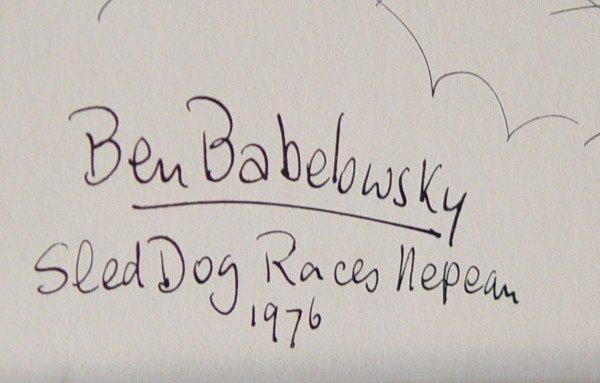 68A: BEN BABELOWSKY, WATERCOLOUR  - 2