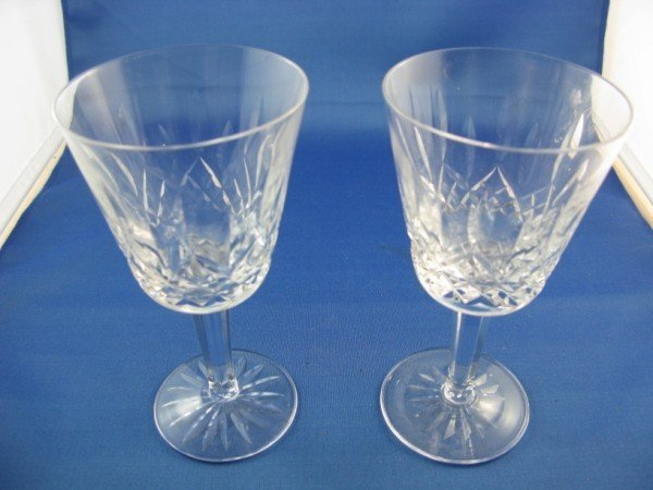 12: WATERFORD WINE GLASSES