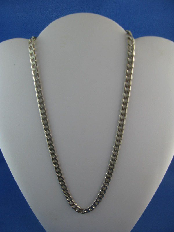 2A: STERLING SILVER LINK CHAIN