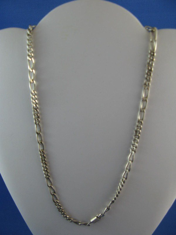 4A: STERLING SILVER LINK CHAIN