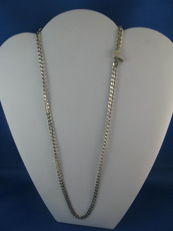 5A: STERLING SILVER LINK CHAIN