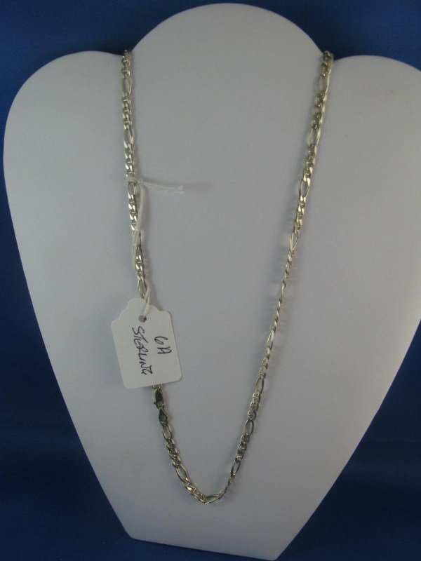6A: STERLING SILVER LINK CHAIN