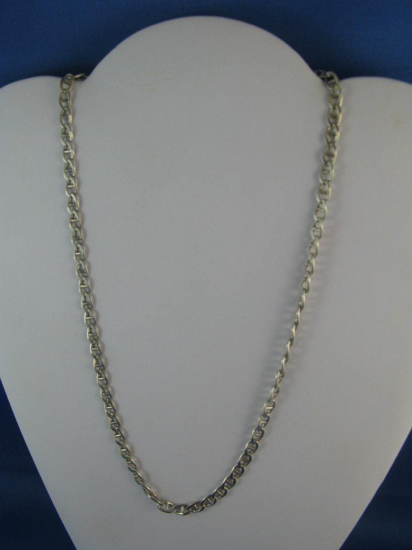 7A: STERLING SILVER LINK CHAIN
