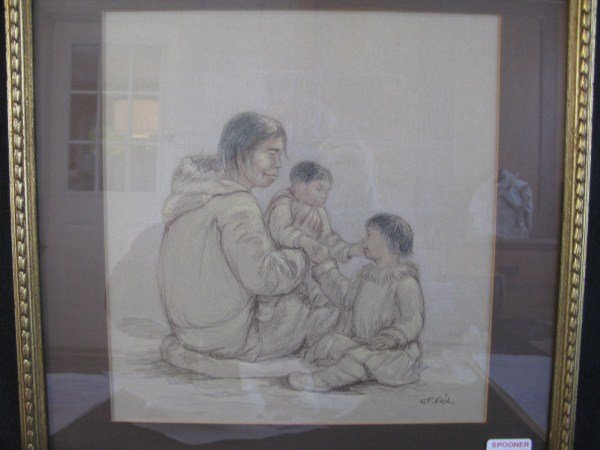 14A: INUIT SKETCH - ANNA T. NOEH