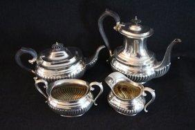 7: BIRKS STERLING FOUR PIECE COFFEE/TEA SERVICE