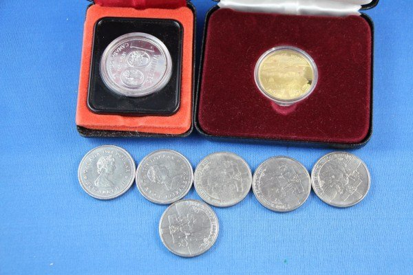2: SELECTION OF CANADIAN DOLLAR COINS