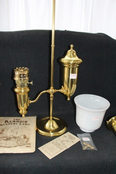 10A: THE ALADDIN STUDENT LAMP -  75TH ANNIVERSARY