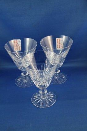 13: TWELVE LARGE WATERFORD WATER GLASSES