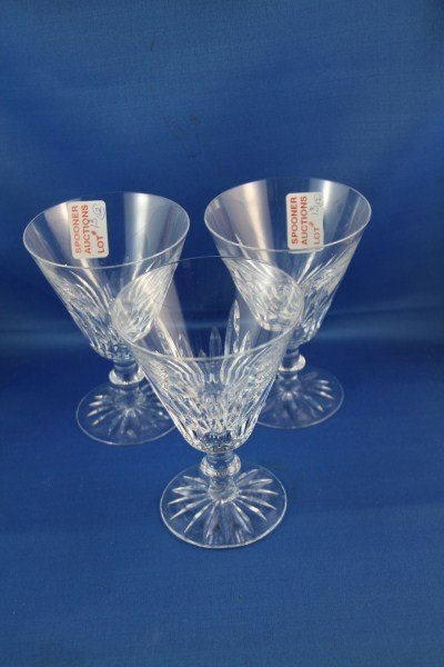 13: TWELVE LARGE WATERFORD WATER GLASSES
