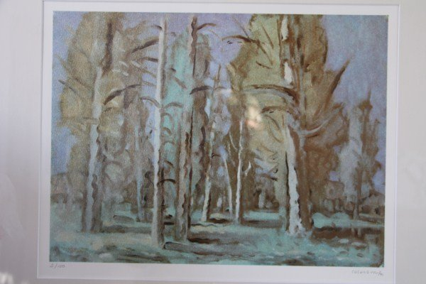 21: LIMITED EDITION LITHOGRAPH - STANLEY COSGROVE