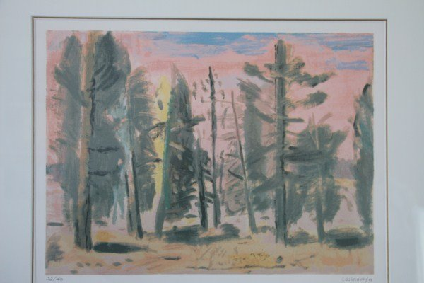 23: LIMITED EDITION LITHOGRAPH - STANLEY COSGROVE