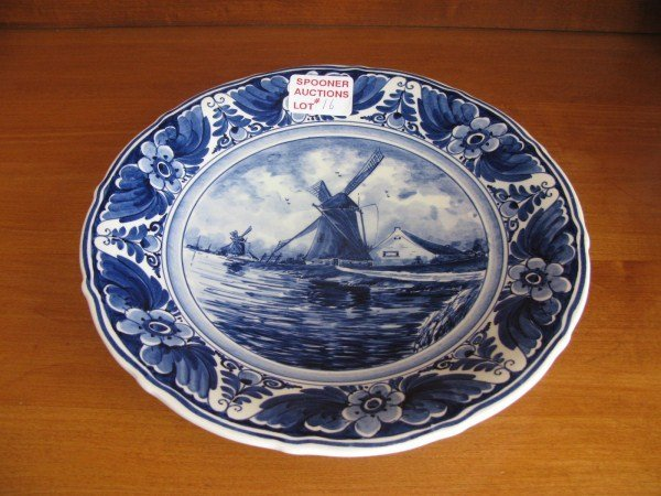 DELFT HANGING PLATE
