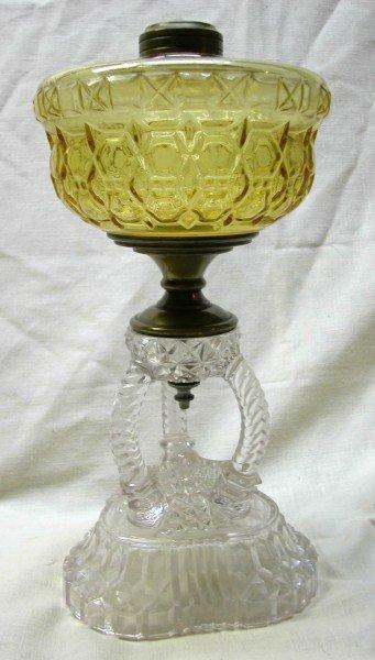 EXQUISITE 19TH CENTURY OIL LAMP BASE