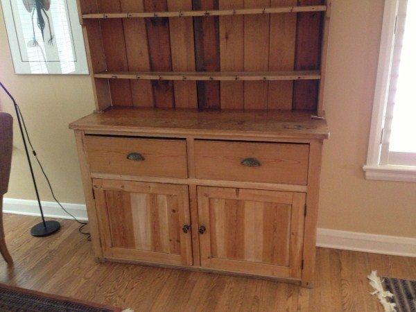 19th Century Scandinavian Pine Kitchen Dresser/Hutch - 2