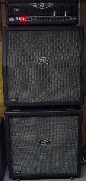 PEAVEY VALVE KING VK 100 FULL STACK AMP