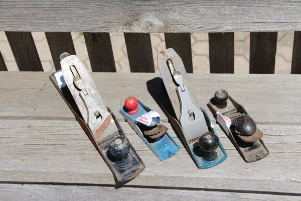FOUR WOOD PLANES