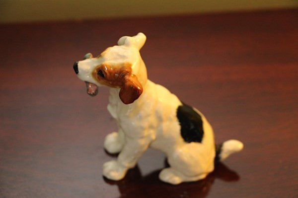 ROYAL DOULTON TERRIER AND BESWICK CHAMPION MONARCH