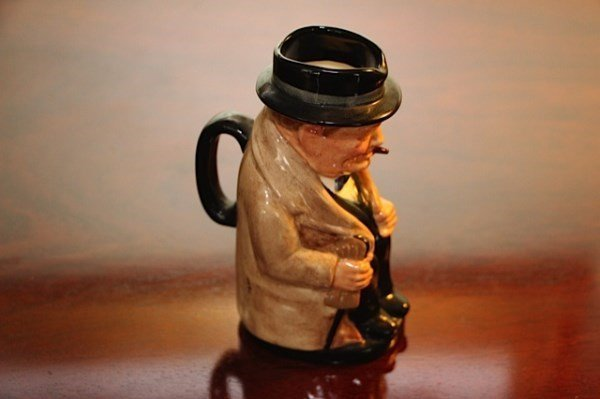 ROYAL DOULTON TOBY JUG WINSTON CHURCHILL