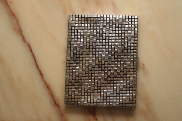 STERLING CIGARETTE CASE BY TIFFANY AND CO.