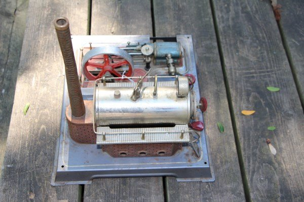 STEAM ENGINE MODEL BY WILESCO