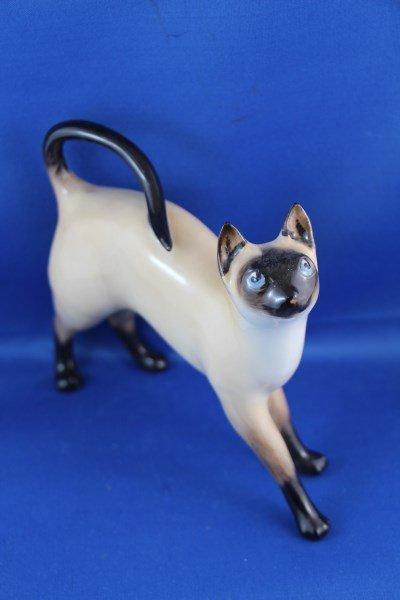 "ROYAL DOULTON FIGURINE ""SIAMESE CAT"" HN2660 B"