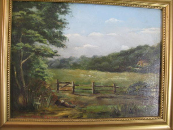 OIL ON CANVAS - WALTER PERCY FEARON