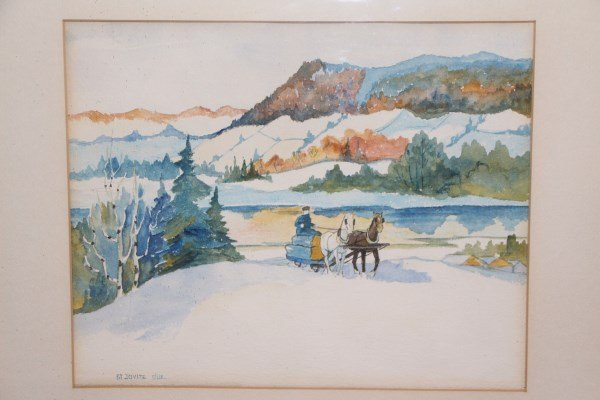 WATERCOLOUR - ATTRIBUTED TO EARLY NORWELL