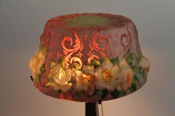 ORIGINAL HUMMINGBIRD AND ROSES PAIRPOINT LAMP - 2