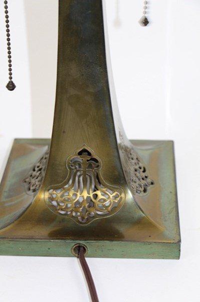 ORIGINAL HUMMINGBIRD AND ROSES PAIRPOINT LAMP - 3
