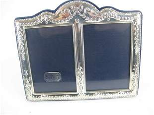 STERLING HALLMARKED DOUBLE PICTURE FRAME