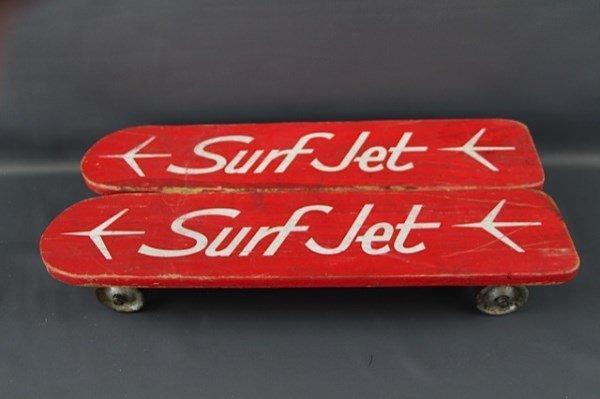 1960'S VINTAGE COLLECTIBLE SURF JET SKATEBOARD