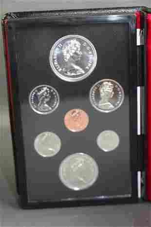 TWO SETS CANADIAN 1974 DOUBLE STRUCK COIN SETS