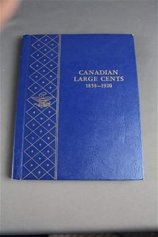 PORTFOLIO OF CANADIAN LARGE CENT COINS