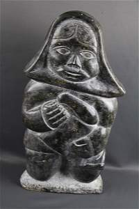 INUIT STONE CARVING