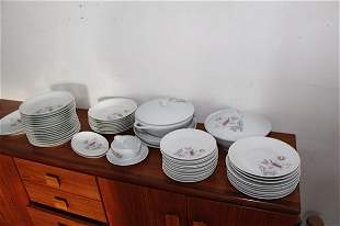 LARGE FRENCH PARTIAL DINNER SERVICE