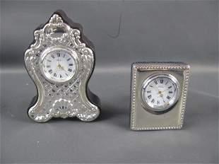 TWO STERLING CLOCKS