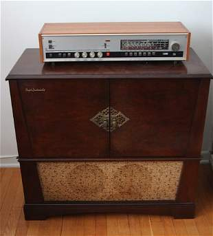 PHILLIPS HIGH FIDELITY CONSOLE STEREO