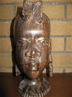 AFRICAN BUST