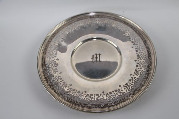 BIRKS STERLING CYLINDRICAL FOOTED DISH