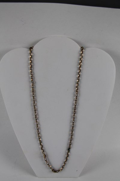 9K GOLD CHAIN LINK NECKLACE