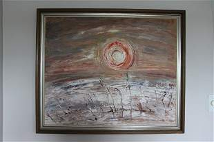 OIL ON BOARD - DUTCH ARTIST -SIGNATURE INDISTINCT