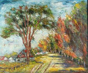 H. LEMAY - OIL ON CANVAS