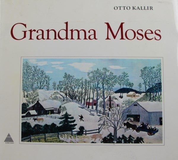 "OTTO KALLIR -  ""GRANDMA  MOSES"" BOOK"