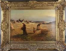 E. CHATEIGNON - OIL ON CANVAS
