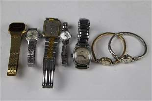 SEVEN ASSORTED VINTAGE WATCHES