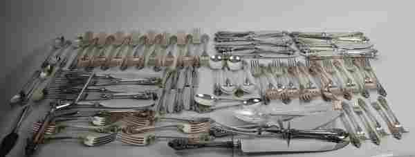 """WALLACE """"GRAND BAROQUE""""STERLING FLATWARE SET"""