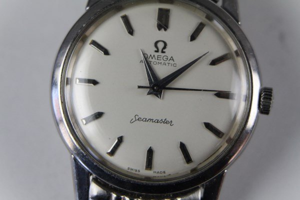 1960 OMEGA  SEAMASTER  STAINLESS AUTOMATIC  WATCH